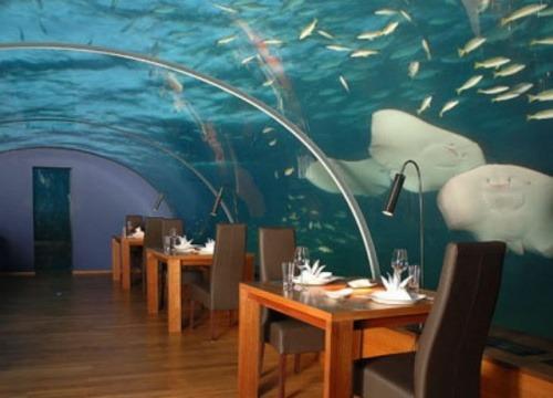 Unterwasser-Restaurant Itha