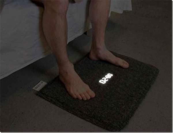 Wecker-Teppich Steh auf