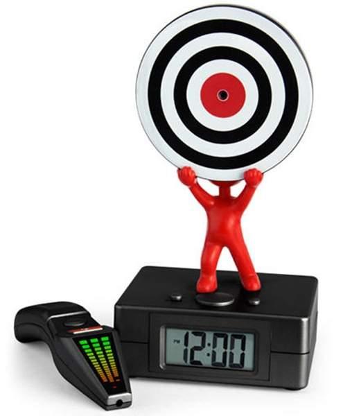 Wecker Zielscheibe - Laser Tag Alarm Clock