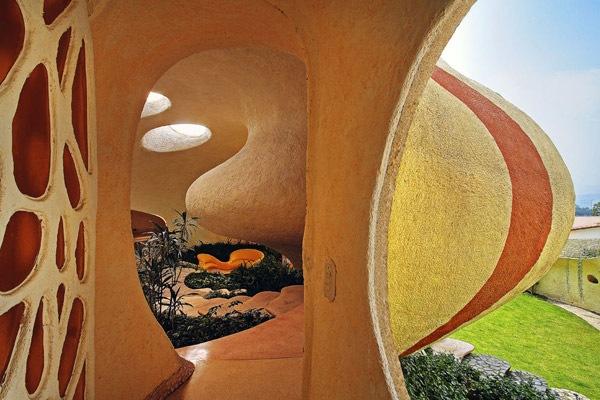 Wohnhaus Muschel in Mexiko 1