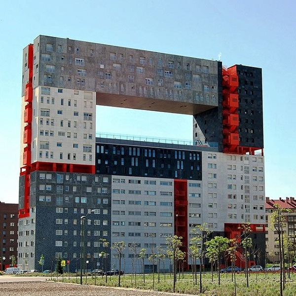 Wohnhaus in Madrid Spanien