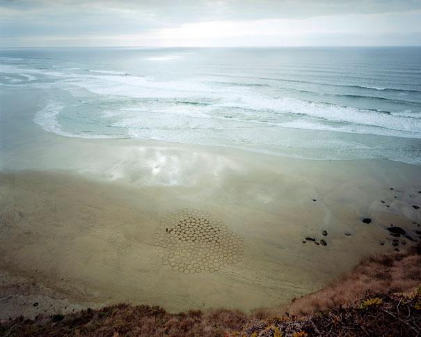 Zeichnungen auf dem Sand 18