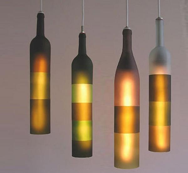 bottles Kreative Beleuchtung im Haus 05