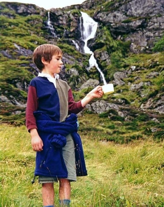 eine Falle fuer den Wasserfall