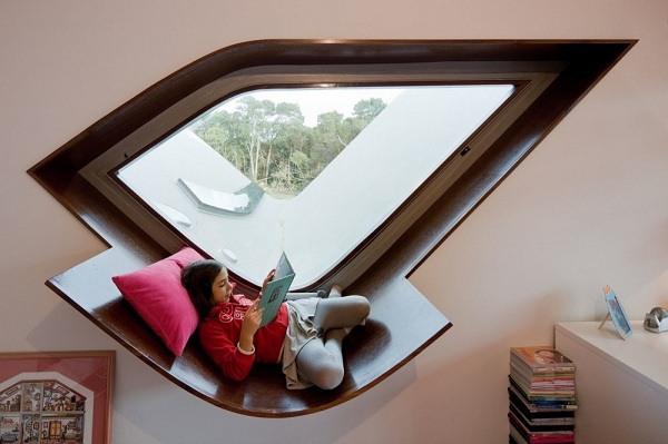 einfaches Fensterbrett