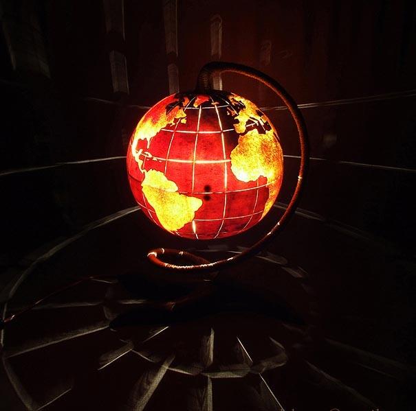 globus2 Kreative Beleuchtung im Haus 13