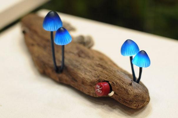 mushroom Kreative Beleuchtung im Haus 26