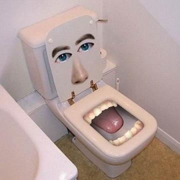 seltsamsten kreative Toilette 25