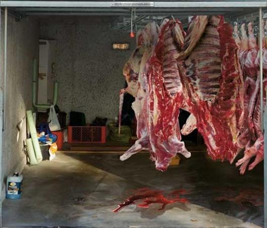 3D-Aufkleber fuer Garage 06