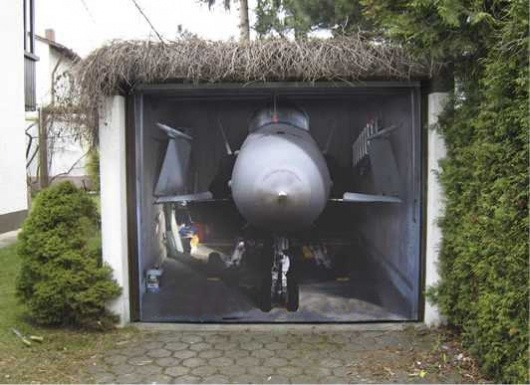 3D-Aufkleber fuer Garage 11