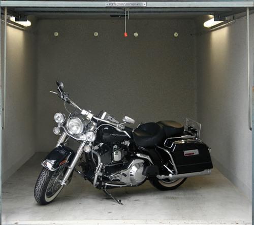 3D-Aufkleber fuer Garage 16