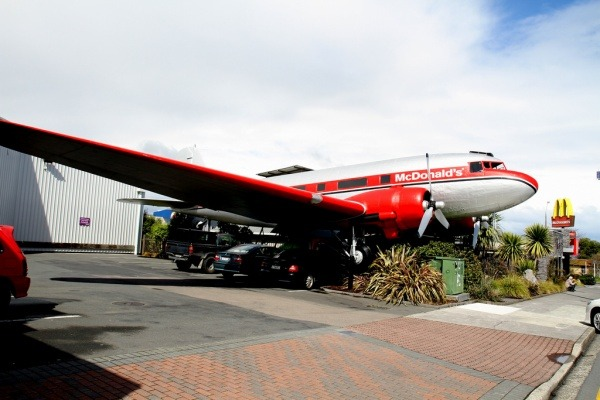 Aircraft McDonalds in Taupo
