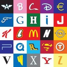 Alphabet fuer Brand Manager