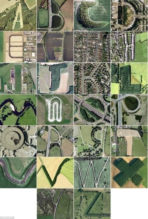 Alphabet von Google Maps