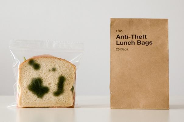 Anti-Diebstahl Taschen fuer das Mittagessen