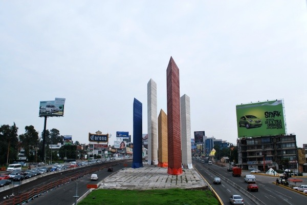 Architekt Luis Barragan, Towers Satelliten in Mexiko-Stadt