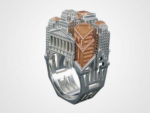 Architektonischer ring 1