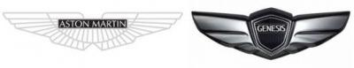 Aston Martin (Grossbritannien) und der Hyundai Genesis (Korea)