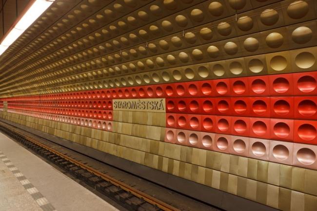 Bahnhof Altstadt in Prag