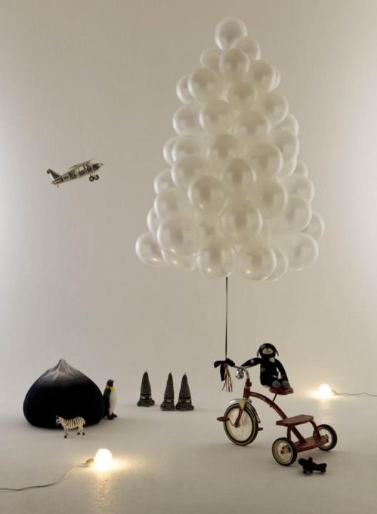 Baum aus Ballons