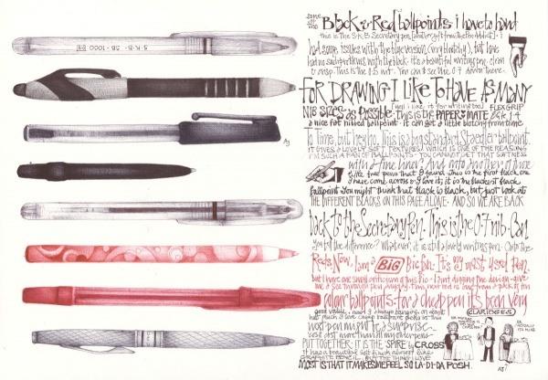 Bilder mit einem Kugelschreiber gezeichnet 11