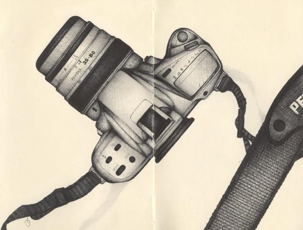 Bilder mit einem Kugelschreiber gezeichnet 17