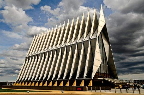 Cadet Kapelle US Air Force Academy