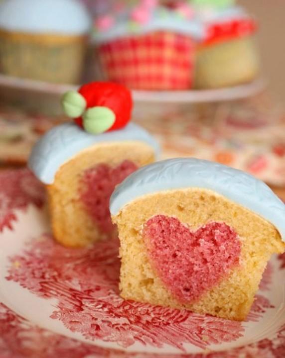 Cupcakes Herz