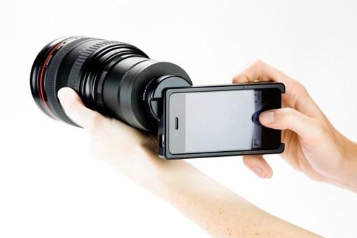 Das Objektiv fuer iPhone