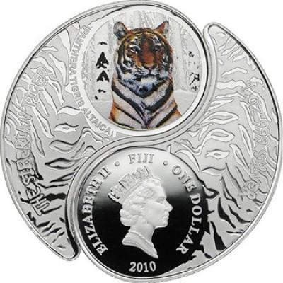 Fidschi-Inseln, 2010, double coin