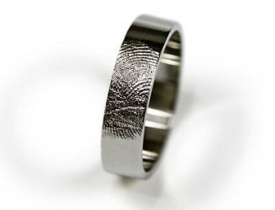 Fingerabdruck der Braut