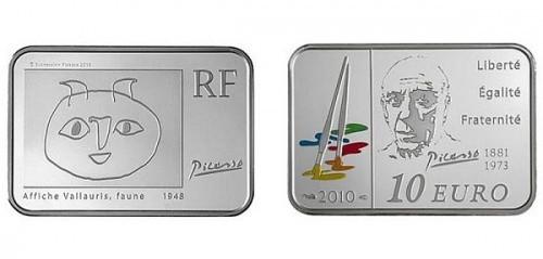 Frankreich 2010, 10 Euro
