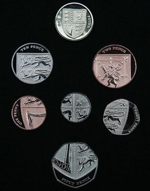 Grossbritannien 2010, Pfund und Pence