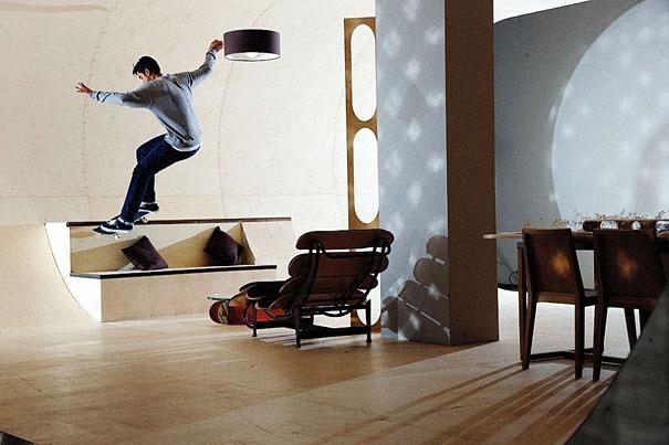 Haus fuer Skateboarding