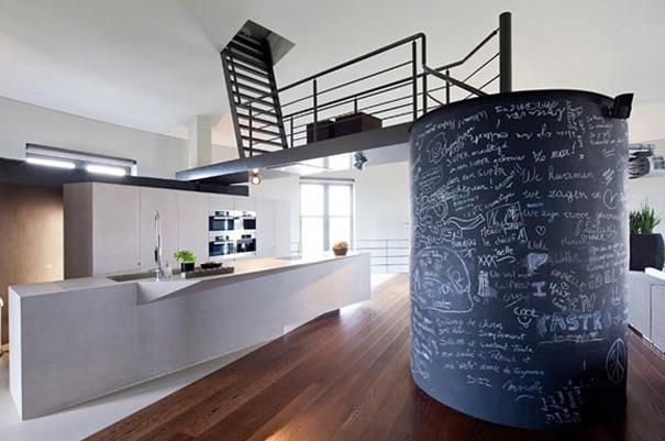 Haus in einem Wasserturm 1