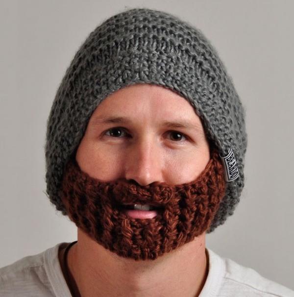 Hut mit Bart