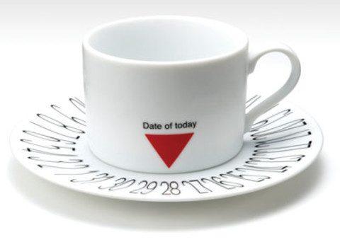 Kalender - Kaffeetasse