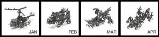 Kalender-Modellbausaetze 1