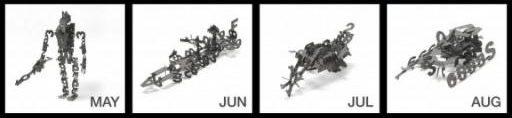 Kalender-Modellbausaetze 2