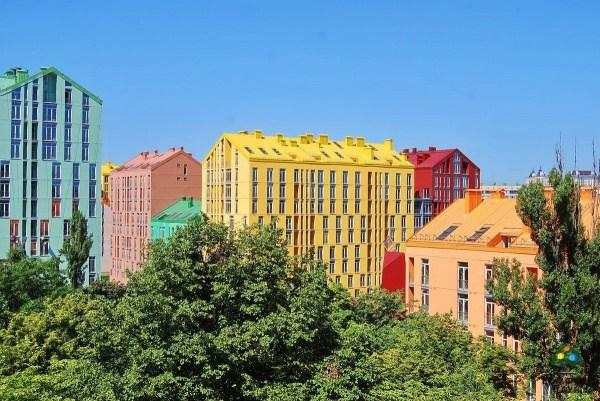 Kiew Der Wohnkomplex