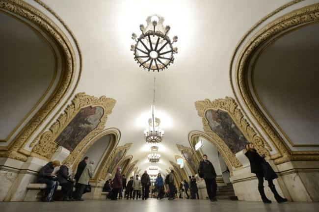 Kiewer Bahnhof in Moskau