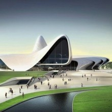 Kulturzentrum in Baku