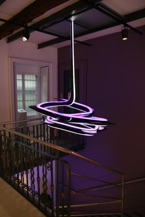 Leuchte vom Design Zaha Hadid fuer Sawaya & Moroni