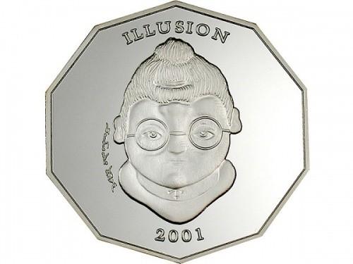 Liberia 2001 10 Dollar