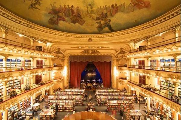 Libreria A El Ateneo Grand Splendid 1