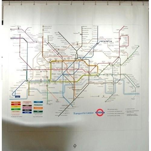 Londoner U-Bahn-Karte