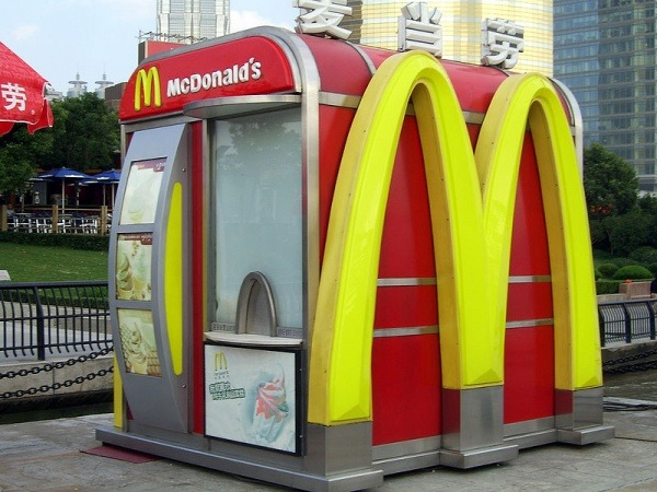 McDonalds Kiosk in Shanghai