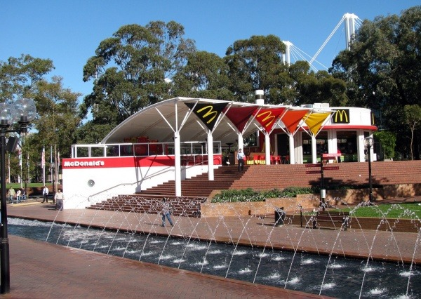 McDonalds in Darling Harbour