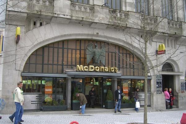 McDonalds in Porto