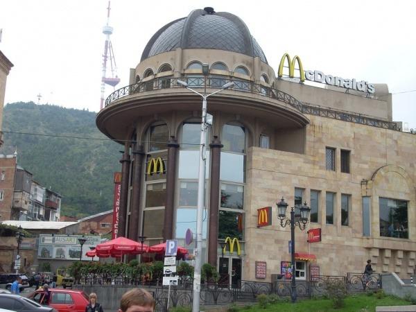 McDonalds in Tiflis